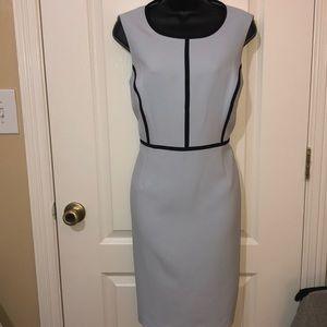 Kasper career sleeveless dress